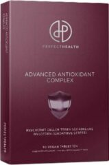 Perfect Health | Advanced Antioxidant Support | Hoog gedoseerd | Kwartaalverpakking | 90 stuks | Met gepatenteerd Vintirox, Curcumin C3 Complex en Biopeperine