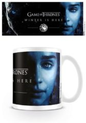 Witte GAME OF THRONES - Mug - 300 ml - Winter is Here - Daenerys