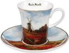Claude Monet Tulpenveld - espressokopje