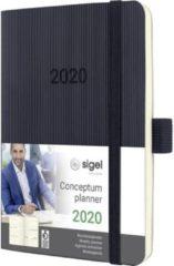 Sigel Weekkalender Conceptum 2020 C2023 DIN A6 Kleur cover: Zwart 1 stuk(s)