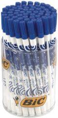 BIC Correctiestift 2-in-1 Inktwisser Blauw Op waterbasis tubo 60