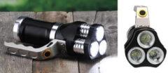Zwarte Haushalt 70040 - Zaklantaarn - 3 LED - lithium ionbatterijen