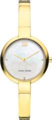 Gouden Danish Design watches edelstalen dameshorloge Coco Gold Mother of Pearl IV05Q1151