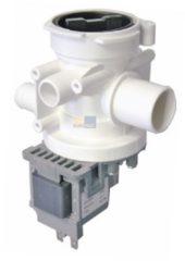 Samsung, Mainox Ablaufpumpe mit Pumpenstutzen und Filter für Waschmaschine 197143