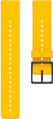 Polar Ignite Verwisselbare Silliconen Polsband - Geel/Zwart - M/L