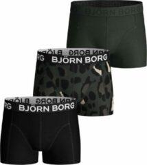 Groene Bjorn Borg Jongens 3Pack Short Gigant Leo-134/140 - 134/140