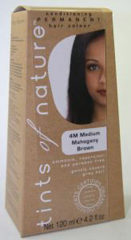 Tints Of Nature Permanent hair colour medium mahonie brown verp.