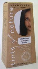Tints Of Nature Permanente Haarkleuring 4m Medium Mahogany Brown