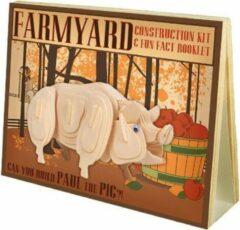 Enigma Animal Construction Kit - Farmyard Paul Pig