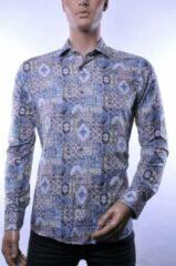 Witte Corrino lange mouw overhemd blouse heren / volwassenen