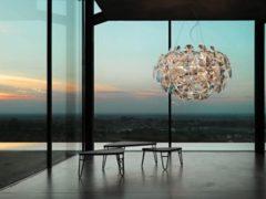 Witte Luceplan Hope Hanglamp 110 cm - Transparant
