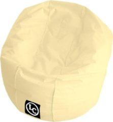 Creme witte LC Zitzakken Whoober Ronde Zitzak Ibiza M outdoor crème - Wasbaar - Geschikt voor buiten