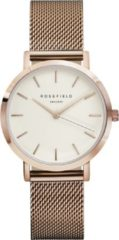 Rosefield The Tribeca Dames Horloge - Rosé Goud Ø33mm - TWR-T50