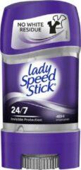 Lady Speed Stick - Invisible Protection - Deodorant - Gel - Deo Stick Rituals - Anti Perspirant - Anti Transparant - Stick - 48 Uur Zweet Bescherming - Lichaamsverzorging Vrouw - Nieuw - Fris & Gezond - 1 x 65 g Best Seller USA