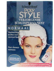 Schwarzkopf Poly Palette Poly permanenten Poly Style Mousse Permanent normaal - 75 ml