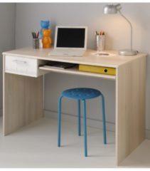 Schreibtisch 'Charly 22' Akazie-Weiß Parisot Akazie / Weiß