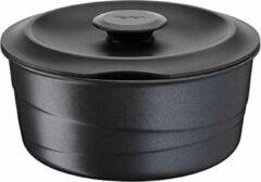 Zwarte Tefal Ingenio Flavour Hoogwaardig Steelpan Met Deksel - 20 cm