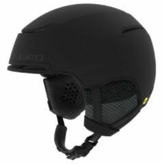 Zwarte GIRO Giro Jackson Mips Sneeuw Helm Unisex - Matte Black