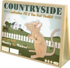 Asmodee Animal Construction Kit - Countryside Monty Mouse