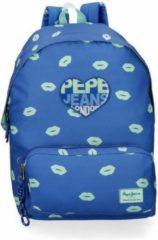 Pepe Jeans rugzak blauw 42 cm