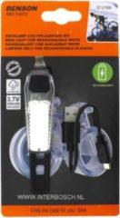 Benson Fiets Bikelight cob USB oplaadbaar wit