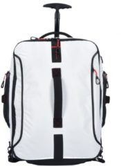 Samsonite Paradiver Light Wheeled Backpack Duffle 55 White Trolley + Koffer
