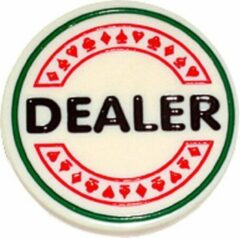 Buffalo DEALER BUTTON