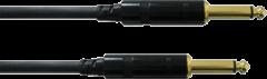 Cordial CCI 6 PP Instrumenten Kabel [1x Jackplug male 6.3 mm - 1x Jackplug male 6.3 mm] 6 m Zwart