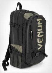 Kaki Venum Challenger Pro Evo Backpack Rugtas Khaki Zwart