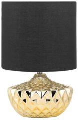 Gouden Beliani VAAL - Tafellamp - - Keramiek