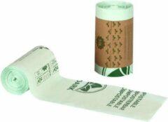 Groene Bioark Gft afvalzakken - Composteerbare vuilniszakken 10 Liter - 1 rol = 50 zakken - Biologisch afbreekbare afvalzakken