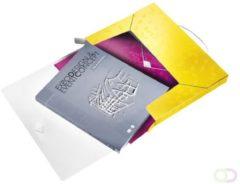 Documentenbox Leitz WOW 30mm PP geel