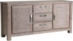 Dynamic24 PKLine Anrichte ALANA in braun Sideboard Kommode Highboard Schrank