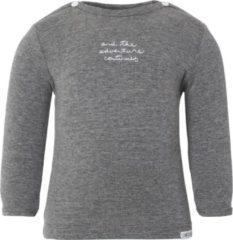 Noppies T-shirt Puck Antracite Melange Mt 68