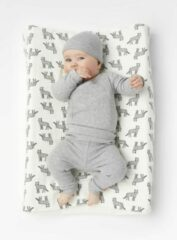 HEMA Newborn-prematuur Broek Bamboe Stretch Grijsmelange (grijsmelange)