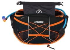 Zwarte Source Hydration pack Hipster Wave Hydration Belt 1.5 liter - zwart