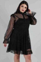 Jawbreaker Skater jurk -3XL- Don't Mesh With My Heart Zwart