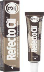 RefectoCil Bruin nr. 3 Wimper- en Wenkbrauw verf 15 ml