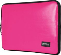 UNBEGUN 13 inch MacBook sleeve van gerecycled materiaal (duurzaam) - Roze laptophoes voor MacBook Pro 13 inch en MacBook Air 13 inch (model: 2017/2018/2019/2020) - Deze hoes is speciaal ontworpen voor de Apple MacBook en is handgemaakt in Nederland