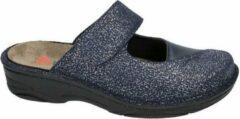 Berkemann -Dames - blauw - slippers & muiltjes - maat 36½