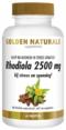Golden Naturals Rhodiola 2500 mg (60 veganistische tabletten)