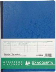 Exacompta register garagist en pomphouder, ft 32 x 25 cm, Nederlandstalig