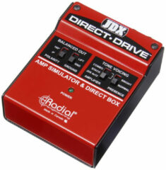 Radial JDX Direct-Drive amp-simulator & DI-box