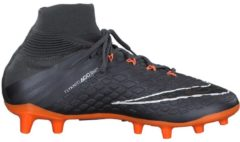 Fußballschuh Jr Hypervenom Phantom III Elite DF FG AH7292-081 mit Nockenprofil Nike Dark Grey/Total Orange-White