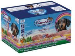 Renske Vers Vlees Multidoos - Hond - Natvoer - Kip, Lam, Kalkoen en Eend - 12 x 395 gr
