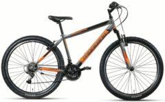 27,5 Zoll Montana Escape Herren Mountainbike Hardtail 21 Gang schwarz-grün, 50cm