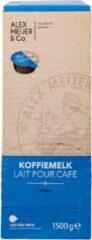 Koffiemelk Cups | Doos met 200 stuks 0,75 cl | Volle melk | Alex Meijer