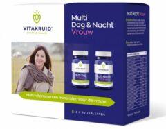 Vitakruid Multi Dag & Nacht Vrouw Tabletten 2x30st