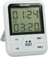 Metaltex Digitale Timer Magnetisch 11 X 8 Cm Wit