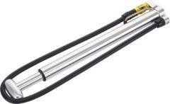 Zilveren Lezyne Micro Floor Drive HP - Minipomp - Aluminium - Zilver (without Gauge)